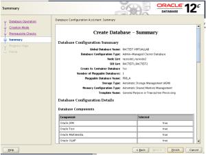 Create Database Summary