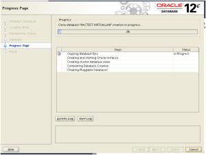 database creation processing