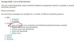 PostgreSQL Download  URL Pre-built Binary Package