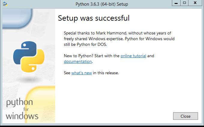 Python_installation