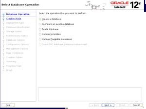 dbca Create a database